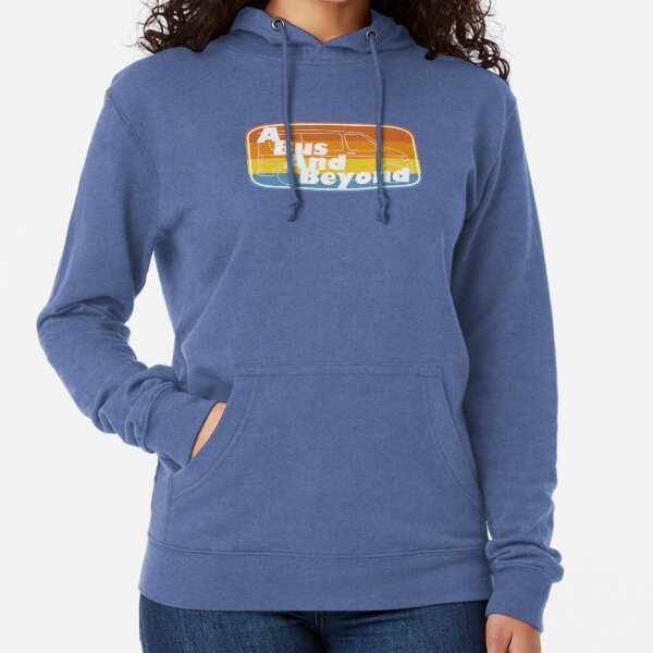 Un logotipo de Bus And Beyond Sudadera ligera con capucha