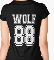 ♥♫I Love KPop-Awesome EXO WOLF 88♪♥ Women's Fitted Scoop T-Shirt