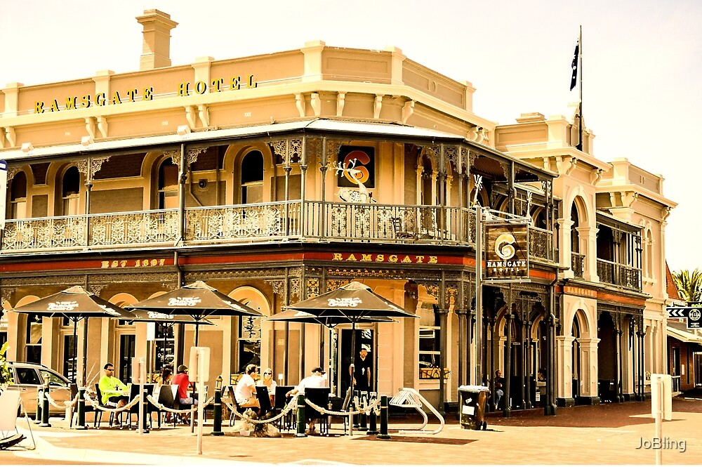 The Ramsgate Hotel, Henley Square by JoBling