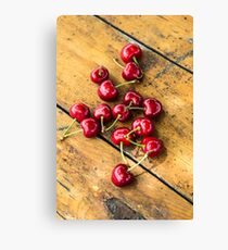 Fresh Cherry Canvas Print