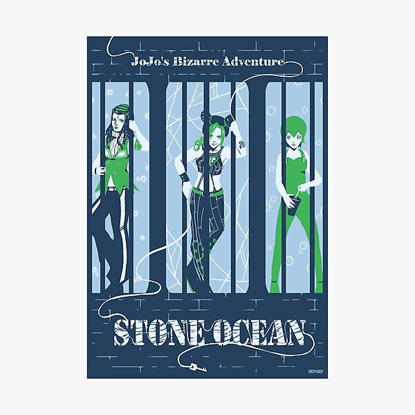 Stone Ocean Photographic Print