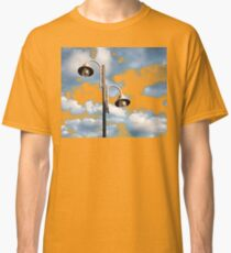 Urban landscape with lamppost  Classic T-Shirt