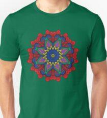 Abstract flower vector figure Unisex T-Shirt