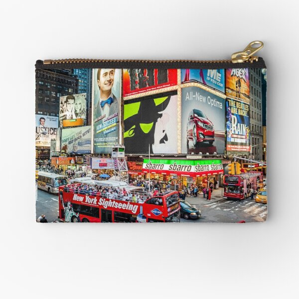 Times Square II Special Edition I Zipper Pouch