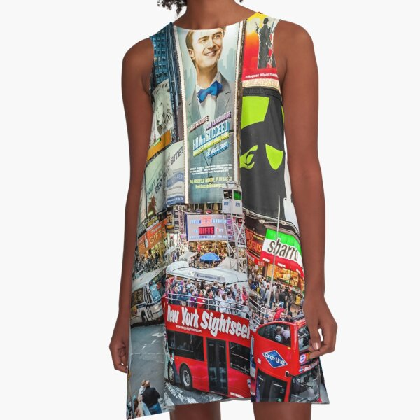 Times Square II Special Edition I A-Line Dress