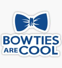 Bowties are cool 2 Sticker