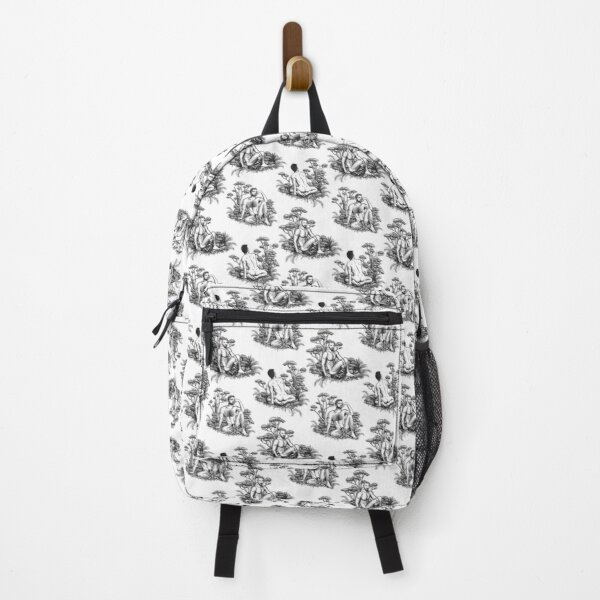Men in nature toile Backpack
