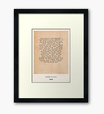 Goodfellas Movie Poster Framed Print