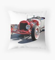 Bucket T 'Sixties Style' Throw Pillow