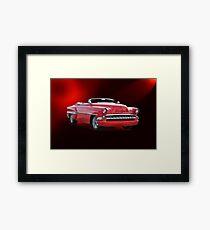 1954 Chevrolet Custom Convertible Framed Print