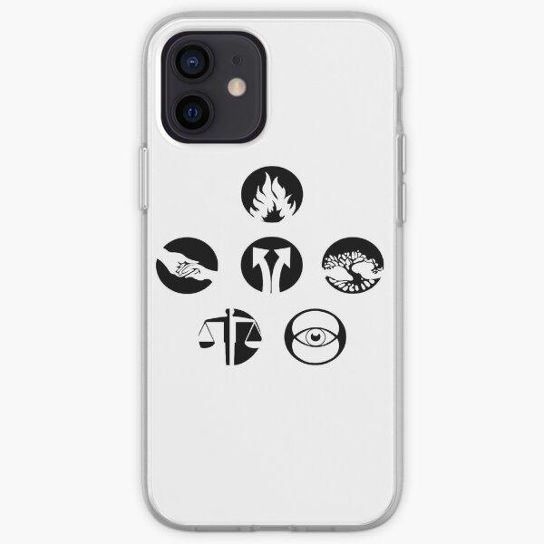 Divergent factions iPhone Soft Case