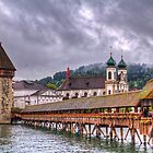Kapellbrücke - Lucerne by vivsworld