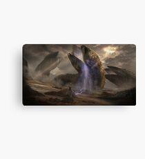 Dune Sandworms Canvas Print