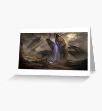 Dune Sandworms Greeting Card