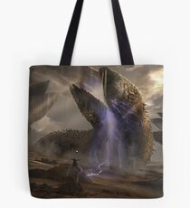 Dune Sandworms Tote Bag