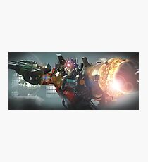 Transformers, Optimus Prime Photographic Print