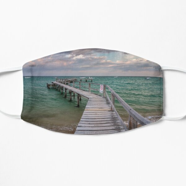 Shelley Beach Jetty, Portsea Flat Mask