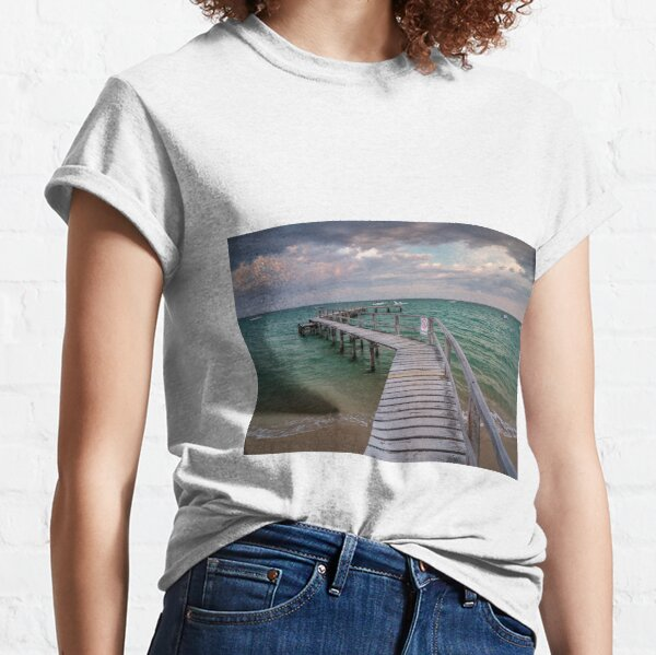 Shelley Beach Jetty, Portsea Classic T-Shirt