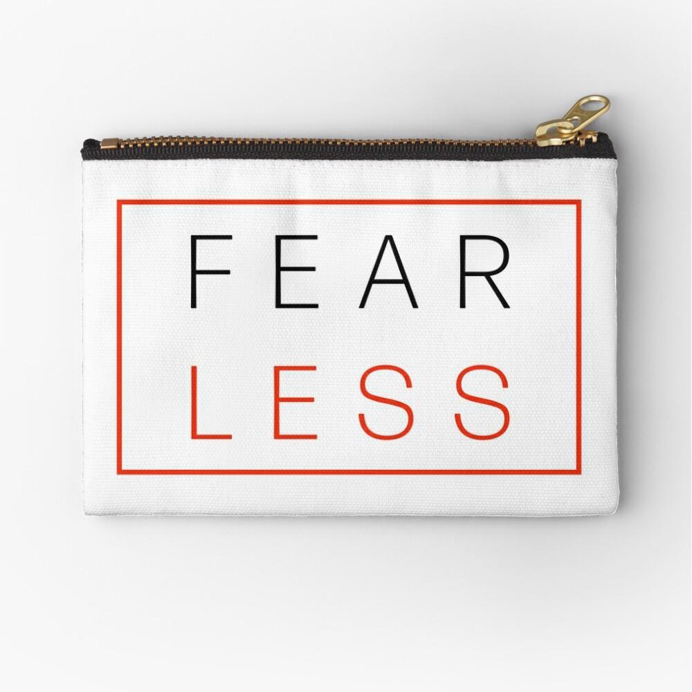 Fear Less Zipper Pouch