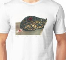 Take retreat in the safety of your mind Unisex T-Shirt