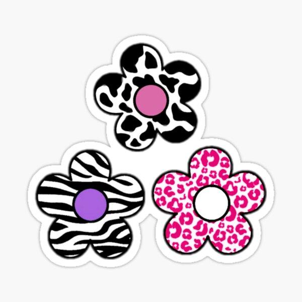fleurs à motifs indé Sticker