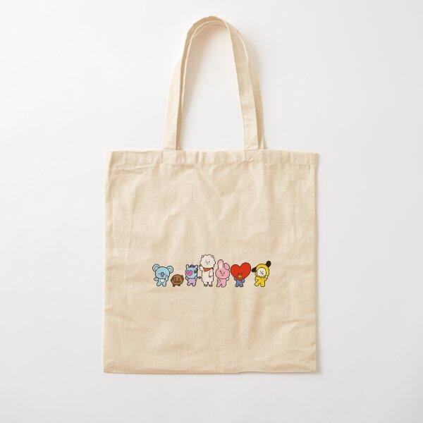 """Dynamite"" BT21 Edition Cotton Tote Bag"