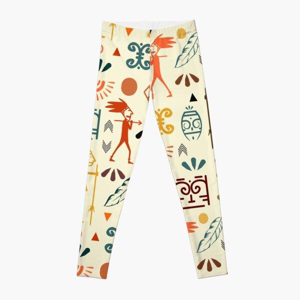 Ancient cool pattern Ideas | Cute & smart looking Leggings