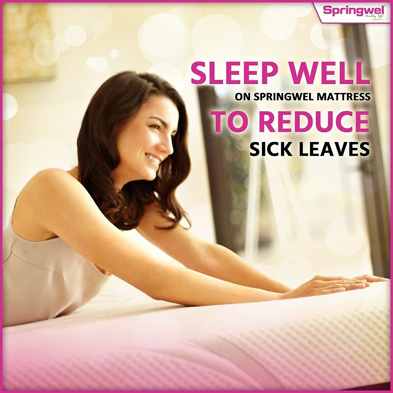 Sleep Well On Springwel Mattress To Reduce Sick Leaves by suhaniroy