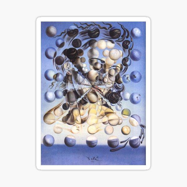 Galatea der Sphären von Salvador Dali Sticker