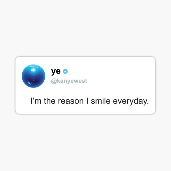 funny tweet Sticker