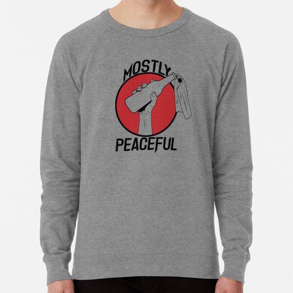 Mostly Peaceful II Lightweight Sweatshirt