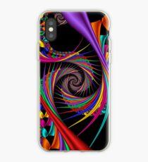 Braiding Rainbows iPhone Case