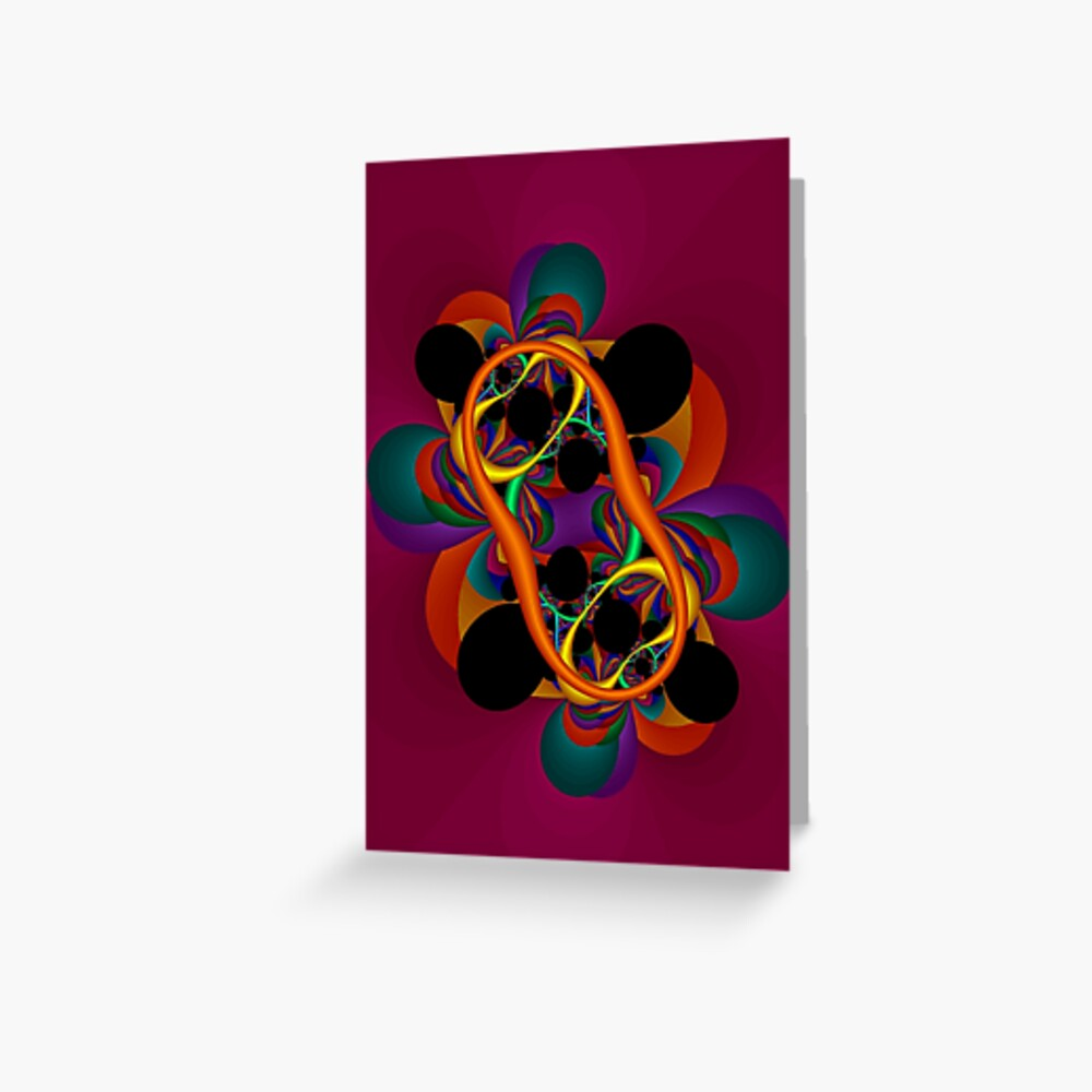 A Multiplicity of Thought Greeting Card