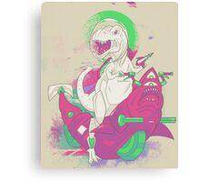 SPACE T REX Canvas Print