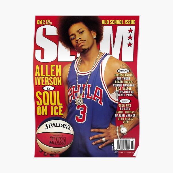 Allen Iverson - Magazine Slam Poster