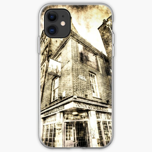 Town Of Ramsgate Pub London Vintage iPhone Soft Case