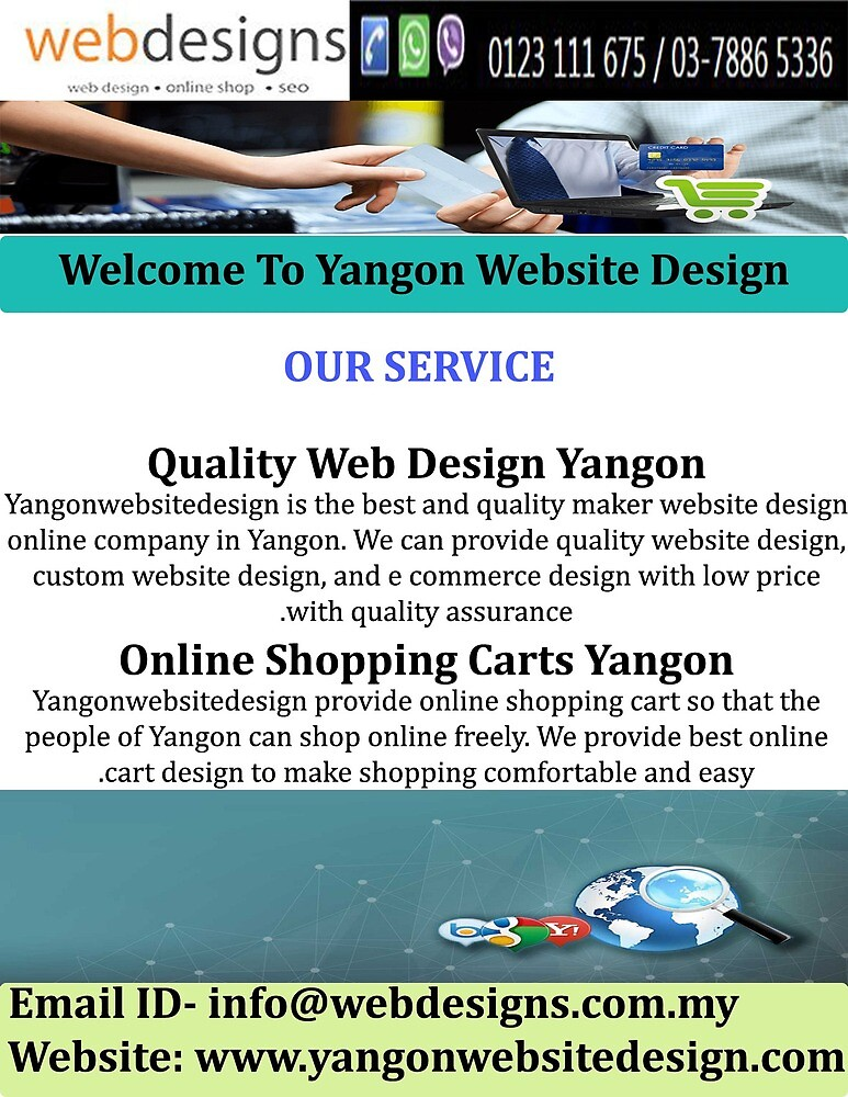 Web Site Design Company Yangon by yangonweb
