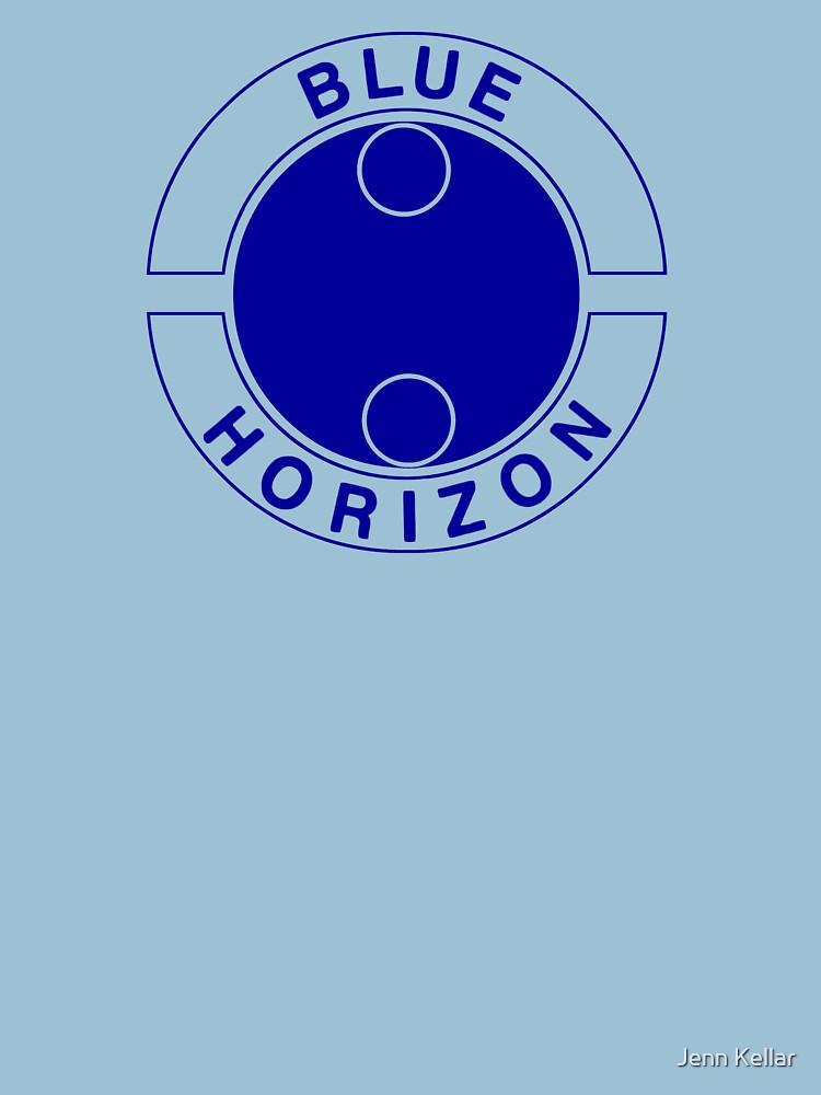 Blue Horizon Label by Jenn84x