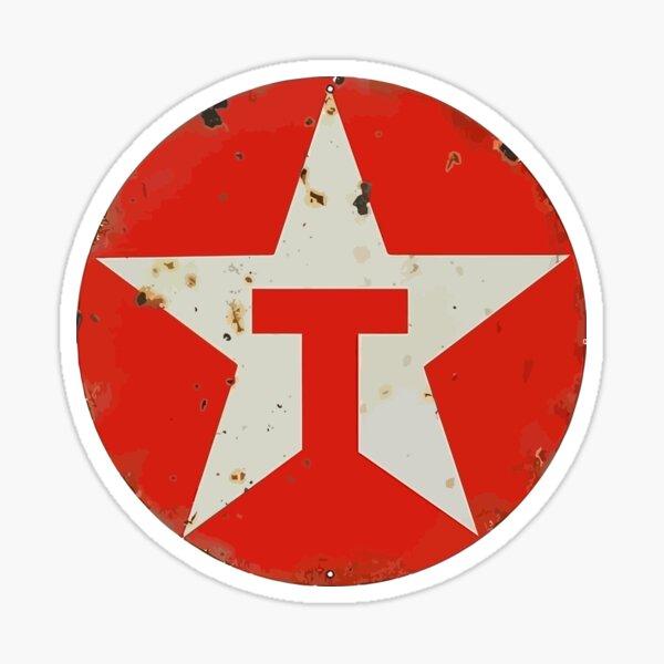 Retro Texaco Sticker
