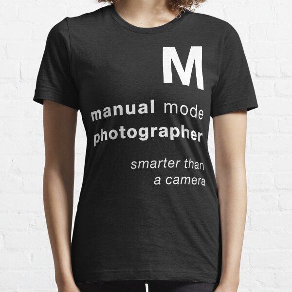 M = smarter than a camera Essential T-Shirt