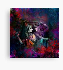 Radha Krishna- The Divine Canvas Print