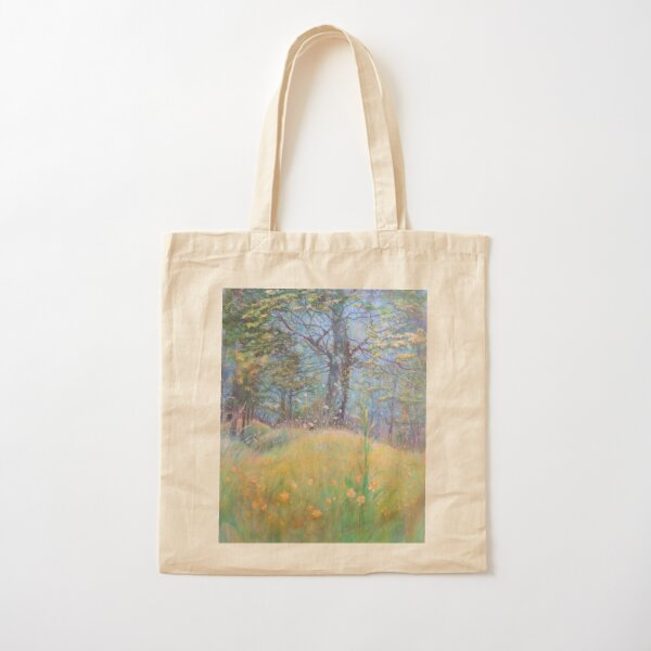 Buttercup Yellow Cotton Tote Bag