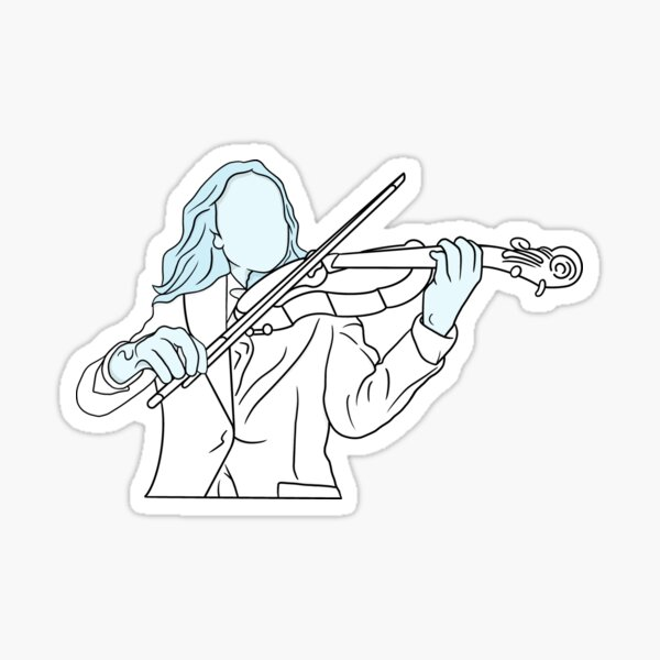 Vanya Hargreeves-Umbrella Academy Sticker