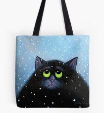 Snow Again Tote Bag