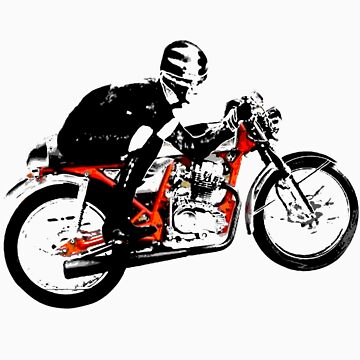 Cafe Racer Chick by madmorrie