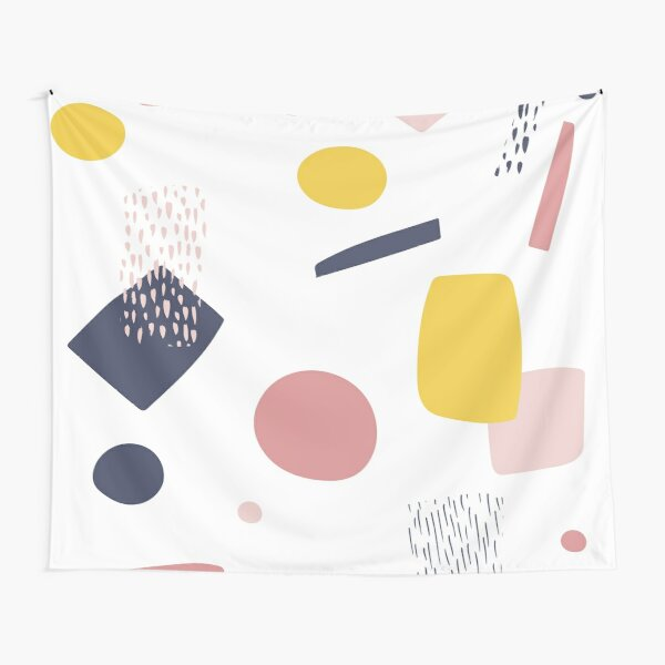 Abstract Shapes Tapestry