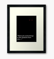 Theif Framed Print