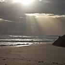 Sunset - Lights Beach Feb 2014 by pennyswork