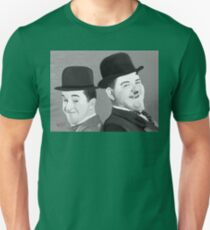 Laurel and Hardy Unisex T-Shirt