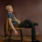 Seated Man by JolanteHesse